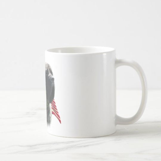 Mastiff (brindle) Flag Coffee Mug
