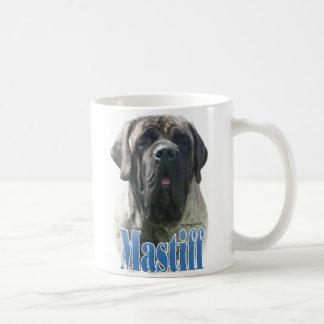 Mastiff (brindle) Name Coffee Mugs