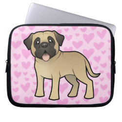 Neoprene Laptop Sleeve 10 inch with Mastiff Phone Cases design
