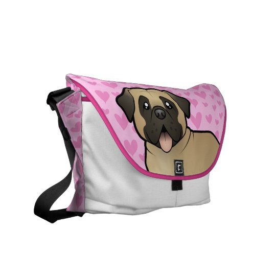 Mastiff / Bullmastiff Love Courier Bag