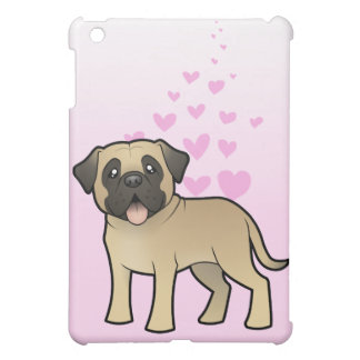 Mastiff / Bullmastiff Love Cover For The iPad Mini