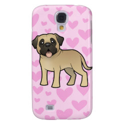 Case-Mate Barely There Samsung Galaxy S4 Case with Mastiff Phone Cases design