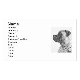 Mastiff Business Cards