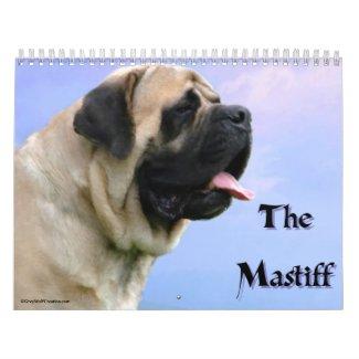 Mastiff Calendar calendar