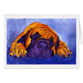 """Mastiff Card - """"Brutus"""""""