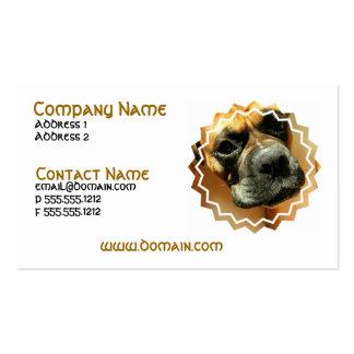 Mastiff Dog Business Card