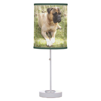 Mastiff Dog Desk Lamp