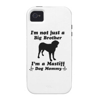 mastiff Dog Mommy Case-Mate iPhone 4 Cover