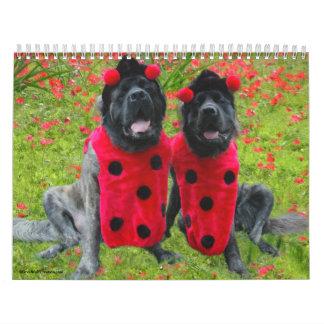 Mastiff Dress Up Calendar