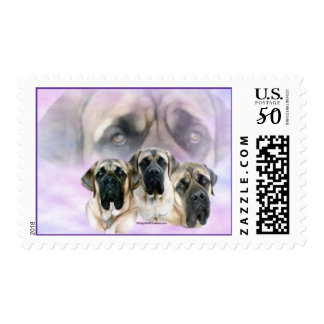 Mastiff Eyes of Love Postage
