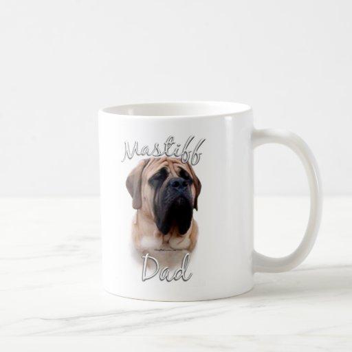 Mastiff (fawn) Dad 2 Mugs