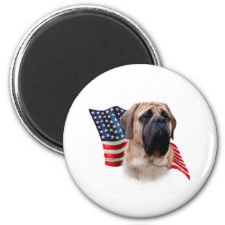 Mastiff (fawn) Flag Magnet