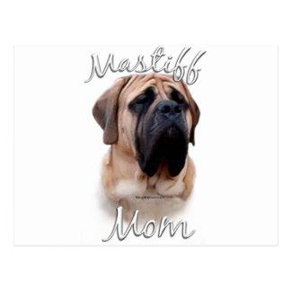 Mastiff (fawn) Mom 2 Postcard
