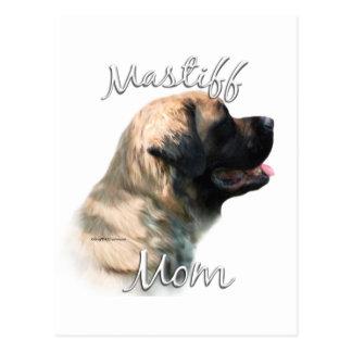Mastiff (fluffy) Mom 2 Postcard
