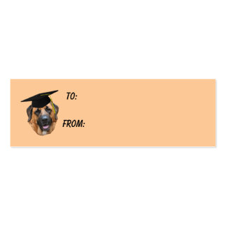 Graduation photo business cards templates zazzle for Dog tag business cards