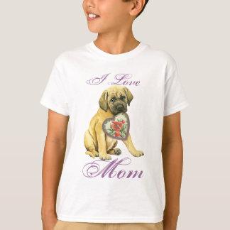 Mastiff Hearts Mom T-Shirt