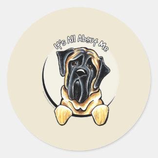 Mastiff IAAM Classic Round Sticker