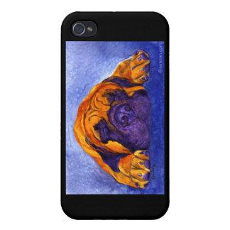 """Mastiff iPhone 4 Case - """"Brutus"""""""