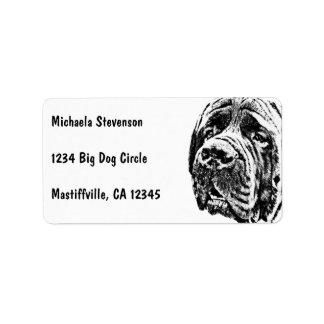 Mastiff Label