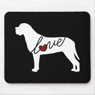 Mastiff Love Mouse Pad