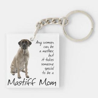 Mastiff Mom Keychain