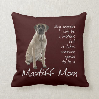 Mastiff Mom Pillow