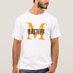 Mastiff Monogram T-Shirt