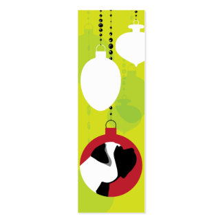 Mastiff Ornament Tag Business Card