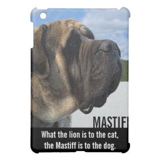 Mastiff Profile iPad Mini Cover