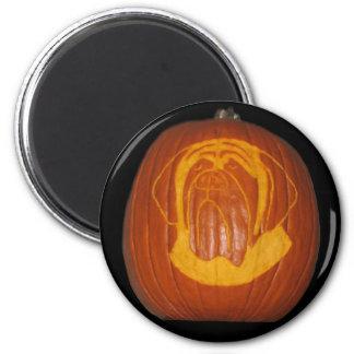 Mastiff Pumpkin Magnet