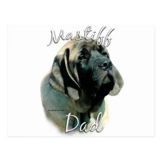 Mastiff (pup) Dad 2 Postcard
