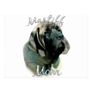 Mastiff (pup) Mom 2 Postcard
