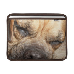 Macbook Air Sleeve with Bullmastiff Phone Cases design