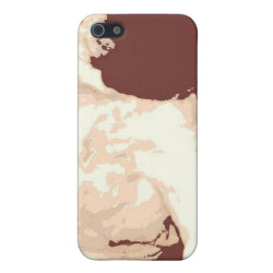 Case Savvy iPhone 5 Matte Finish Case with Bullmastiff Phone Cases design