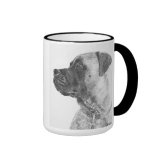 Mastiff Ringer Coffee Mug