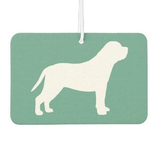 Mastiff Silhouette Air Freshener