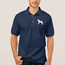 Mastiff Silhouette Polo Shirt