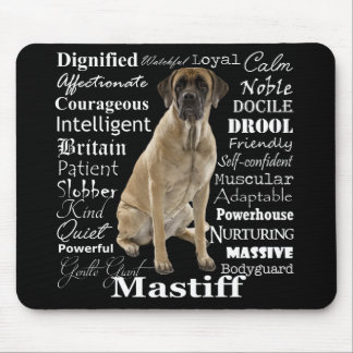 Mastiff Traits Mousepad