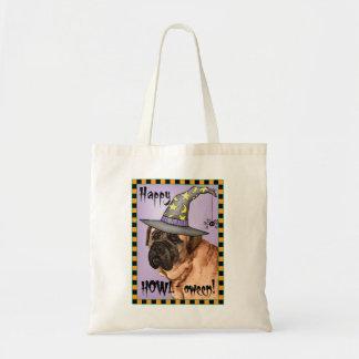 Mastiff Witch Tote Bag