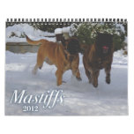 Mastiffs 2012 Calendar