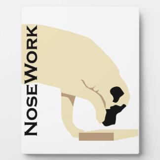 Mastiffs_Nose Work Plaque