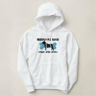 Mastiffs Rule Embroidered Hoodie