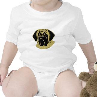 Mastín inglés trajes de bebé