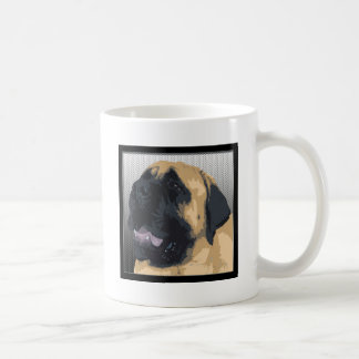 Mastín inglés taza de café
