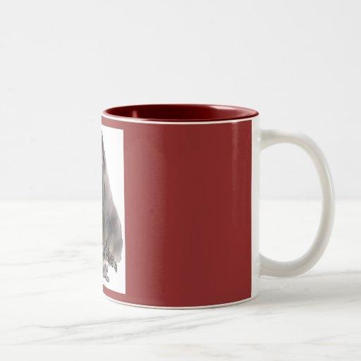 mastín neopolitan taza de café