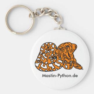 Mastin python key supporter key chain