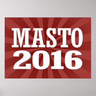 Masto - Catherine Cortez Masto 2016 Póster