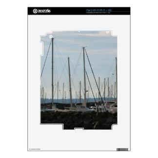Masts In The Marina Skins For iPad 2