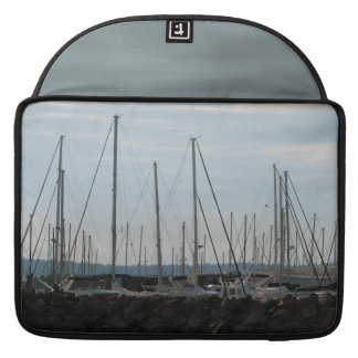 Masts In The Marina Sleeve For MacBook Pro