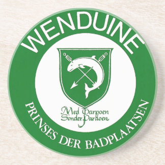 Mat Wenduine (with weapon shield) Drink Coaster